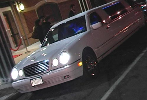 video of new york limo driver popping champagne